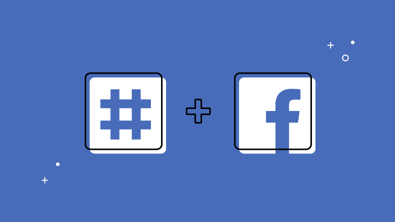 use of hashtags (#) on Facebook