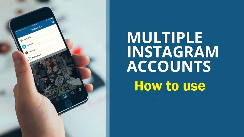 How to manage two Instagram accounts?