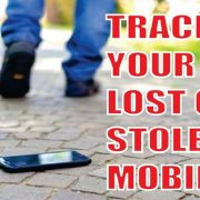Locate your lost, switched off or stolen smartphone