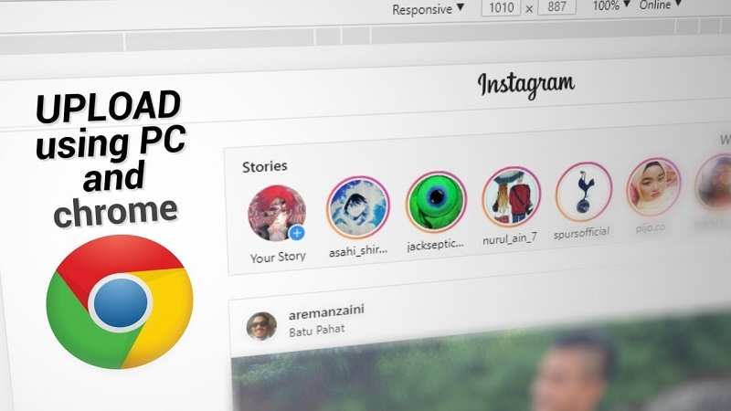 How to post on Instagram from pc online