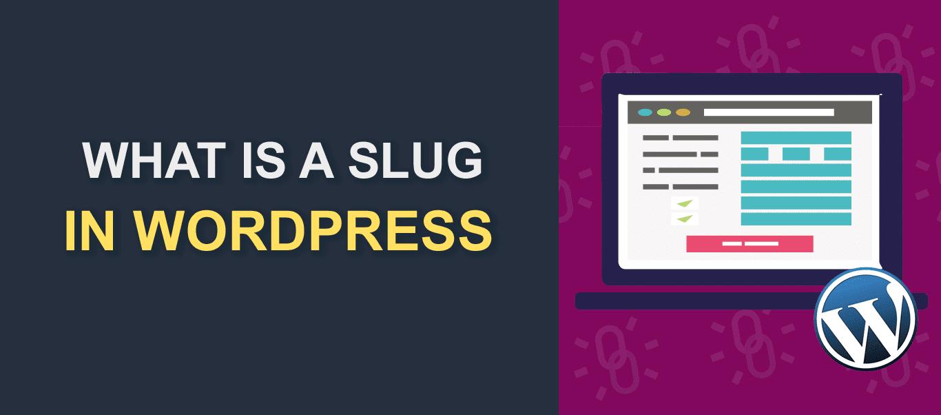 What is a slug in wordpress