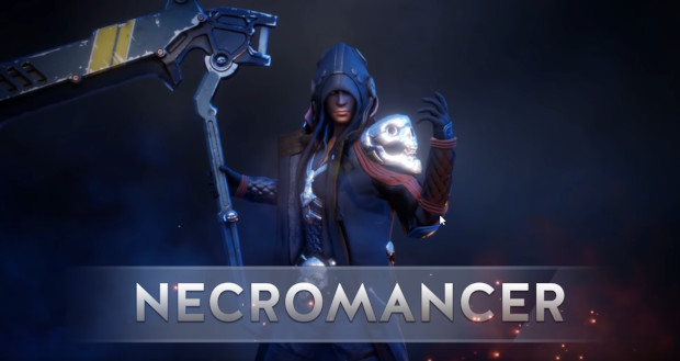 games with necromancer class