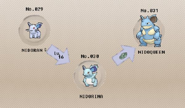when to evolve nidorino